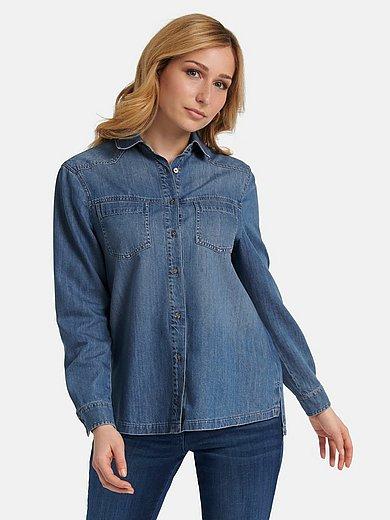 Basler - Denim blouse with long sleeves