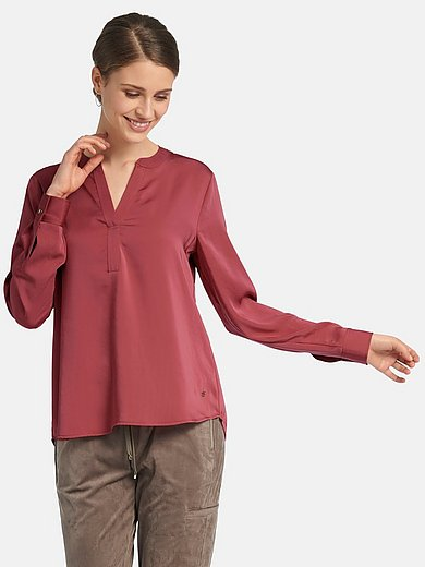 Basler - Round neck blouse with long sleeves