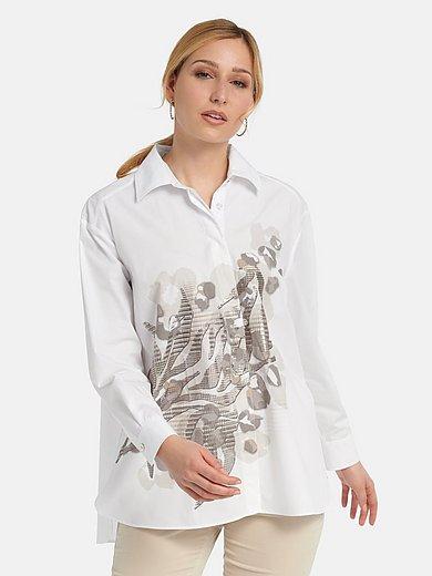 Basler - Long blouse in 100% cotton