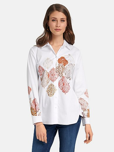 Basler - Shirt style blouse with print