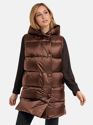 Basler - Quilted down waistcoat with hood