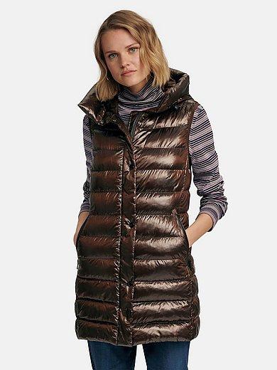 Fuchs & Schmitt - Long quilted gilet with hood