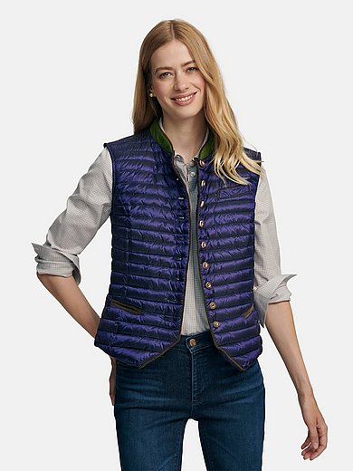 Schneiders Salzburg - Quilted down waistcoat with single breast pocket