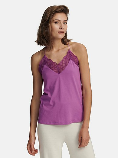 Lanius - Strappy top in 100% cotton