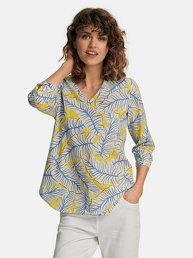 Eterna - Blouse with 3/4-length sleeves