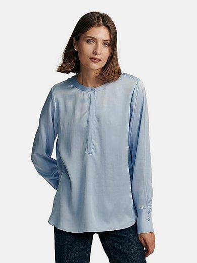 comma, - La blouse plus longue au dos 100% viscose