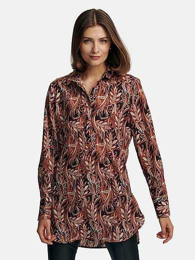 comma, - Blouse made from crease-resistant easy-care fabric