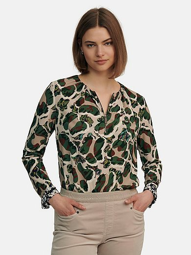Marc Cain - Top with long sleeves