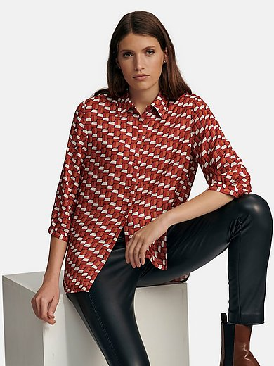 Seidensticker - Blouse with 3/4-length sleeves