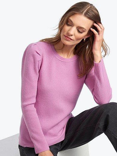 Uta Raasch - Rundhals-Pullover aus 100% Premium-Kaschmir