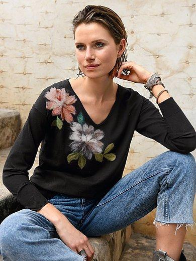portray berlin - V-ringad tröja