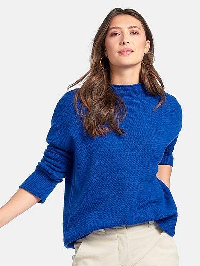 include - Pullover mit angeschnittenem Stehbundkragen