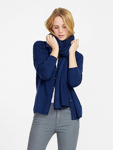 Peter Hahn Cashmere - Cardigan with ­long sleeves design CORA