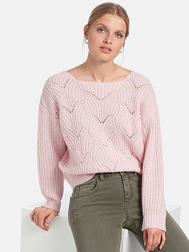 MYBC - Jumper with boat neck and long sleeves
