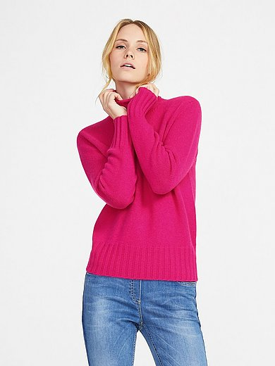 Peter Hahn Cashmere - Polo neck jumper in 100% cashmere Bernadette