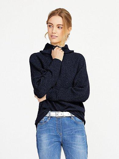 include - Roll-neck jumper in Pure cashmere in premium quali