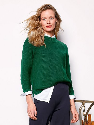 DAY.LIKE - Round neck jumper made of cotton