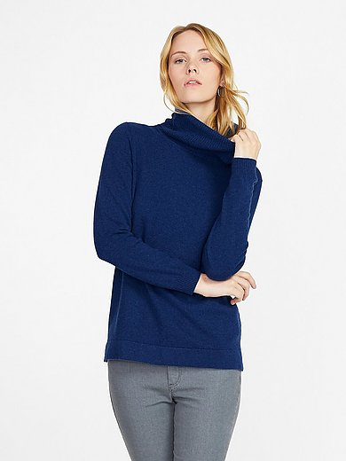 Peter Hahn Cashmere - Roll-neck pullover in 100% PREMIUM cashmere