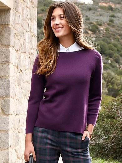 Peter Hahn - Le pull manches 7/8 100% laine vierge