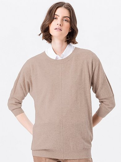Peter Hahn - Le pull manches 3/4 100% laine vierge