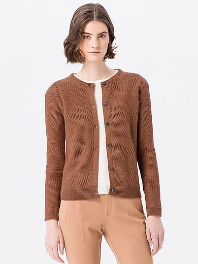 Peter Hahn - Cardigan in 100% new wool