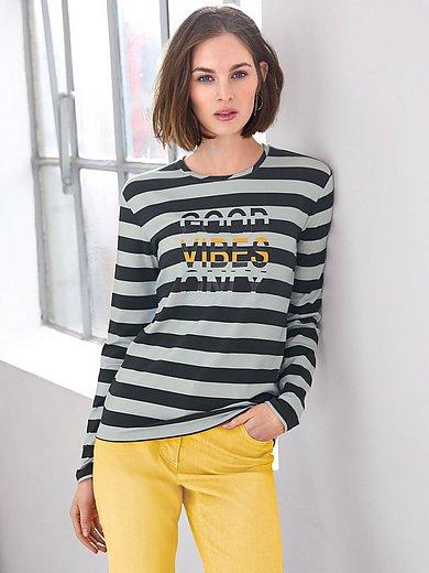 Looxent - Shirt med rund halsudskæring med cool wording