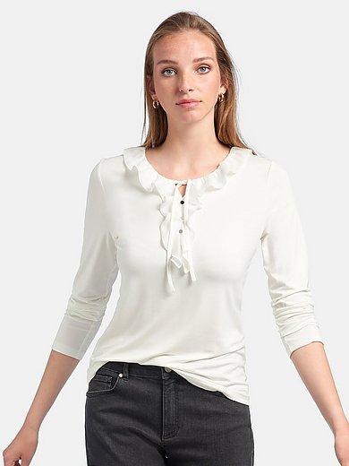 Uta Raasch - Shirt met V-hals en lange mouwen