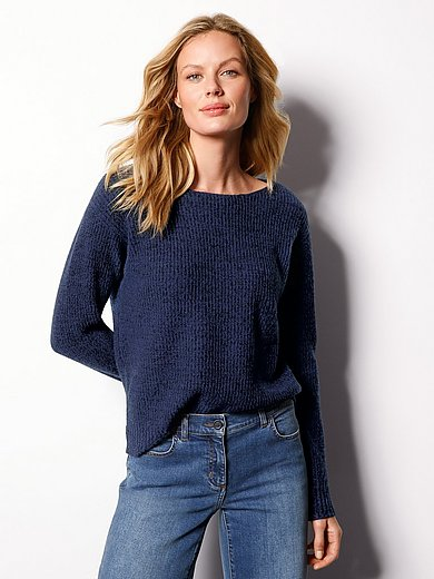 DAY.LIKE - Round neck jumper in 100% new milled wool