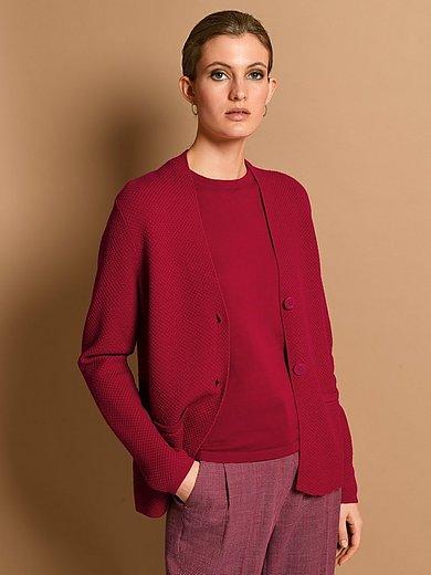 Fadenmeister Berlin - Knitted jacket in 100% new milled wool