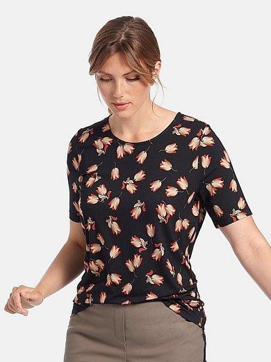 Anna Aura - Round neck shirt with short sleeves