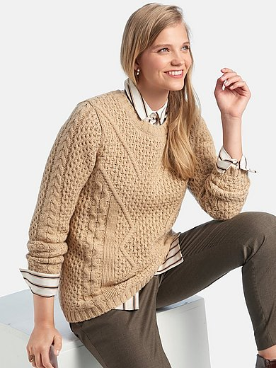 Fadenmeister Berlin - Round neck jumper with long sleeves