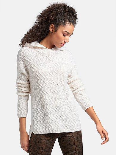 include - Hoodie-Pullover aus 100% Premium-Kaschmir