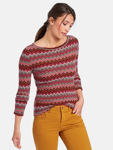 Richard Grand - Round neck jumper with long sleeves