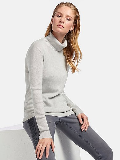 Peter Hahn - Roll-neck jumper with long sleeves