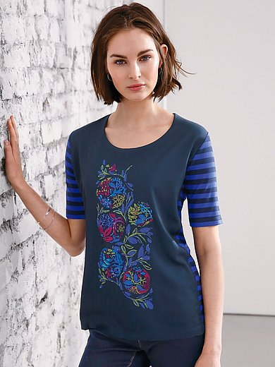 Looxent - Top with eye-catching motif