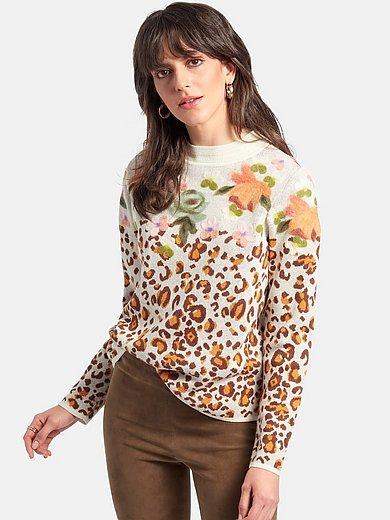 portray berlin - Round neck jumper in 100% cotton