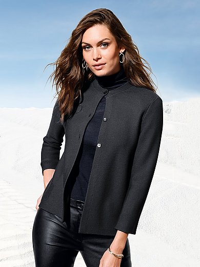 Peter Hahn - Cardigan with 7/8-length sleeves