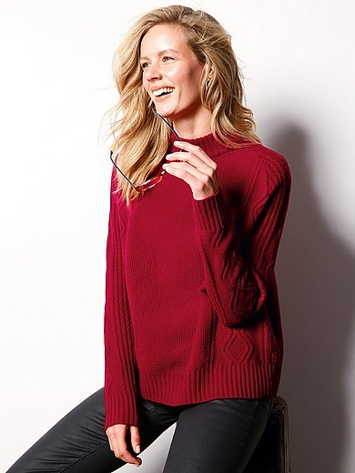 DAY.LIKE - Jumper in new milled wool and cashmere