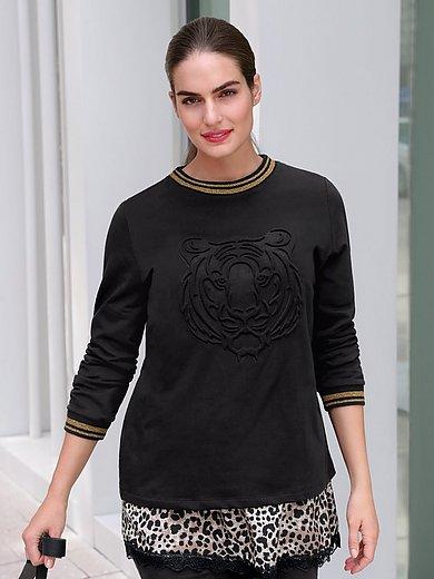 Emilia Lay - Sweatshirt mit Rundhals-Ausschnitt