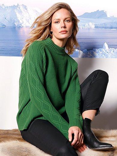 DAY.LIKE - Pullover mit Stehbund-Kragen