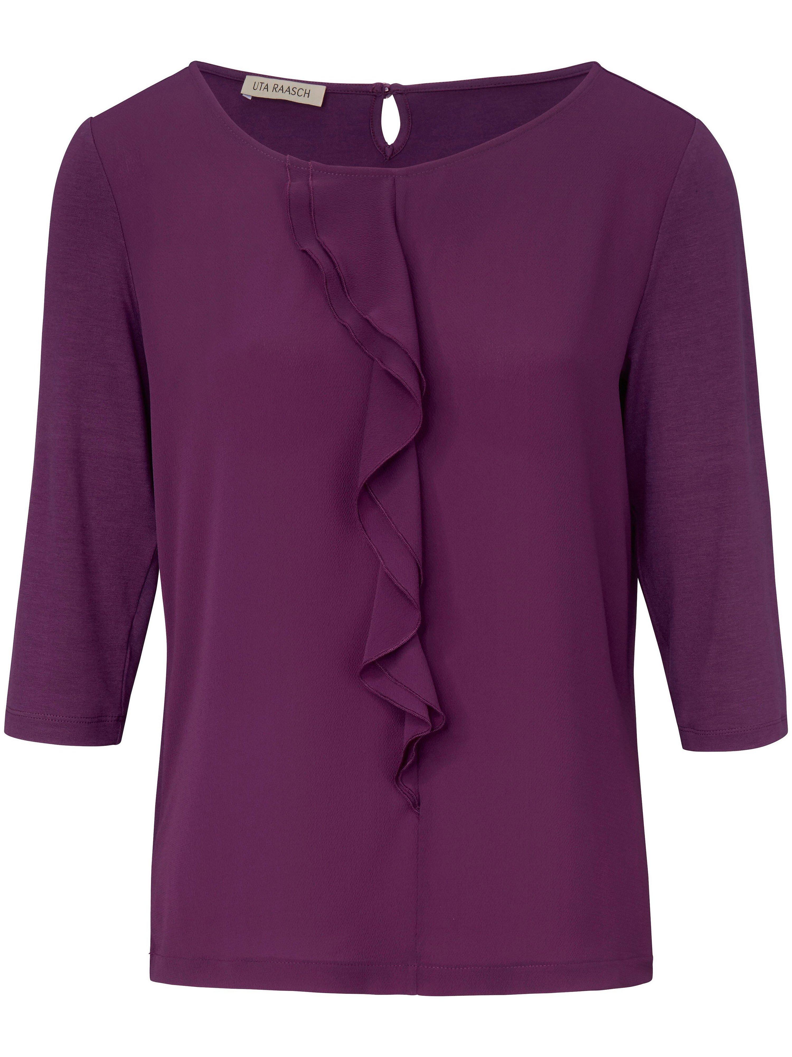 Shirt met 3/4-mouwen Van Uta Raasch paars