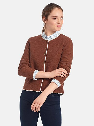 Peter Hahn - Country style cardigan with long sleeves