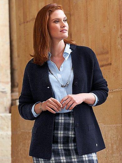 Anna Aura - Le blazer en maille 100% laine vierge