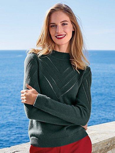 Uta Raasch - Pullover mit Stehbund-Kragen