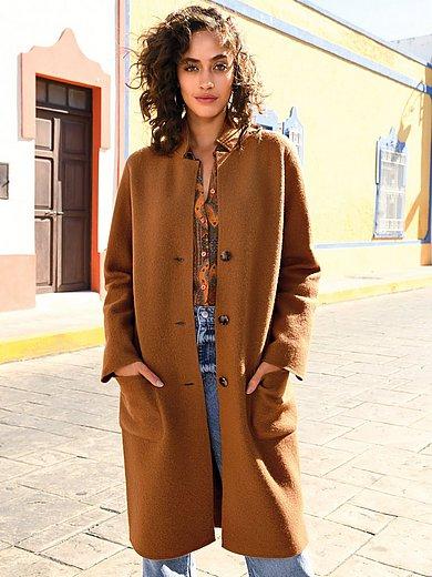 portray berlin - Gebreide jas van 100% scheerwol met lange mouwen