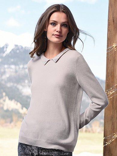 include - Polo-Pullover aus 100% Kaschmir