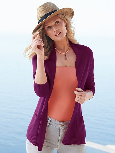 include - Cardigan in pure cashmere