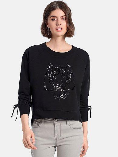 Looxent - Sweatshirt met rijgkoord en lange raglanmouwen