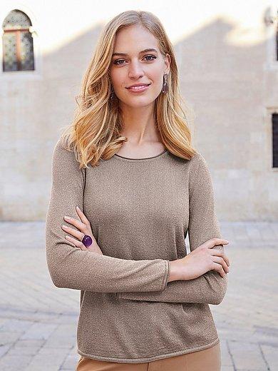 Uta Raasch - Rundhals-Pullover mit GlitzerEffekt
