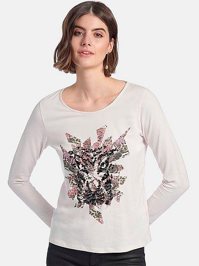 Looxent - Shirt met ronde hals en lange mouwen